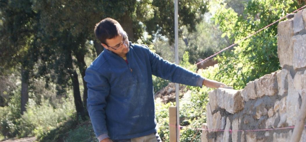 Francisco Gil Gil - Chemin de Mascla - Domaine de l'Hortus - Pic Saint Loup - Septembre 2012