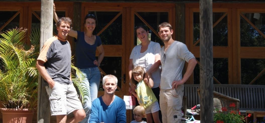 Maguy&Thierry - 4 Juillet 2013 - Cave Marcon - Distributeurs de Vins - St Bonnet le Froid