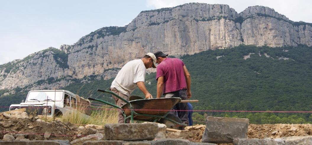 Pont des Espagnols - Domaine de l'Hortus - Pic Saint Loup - Septembre 2012