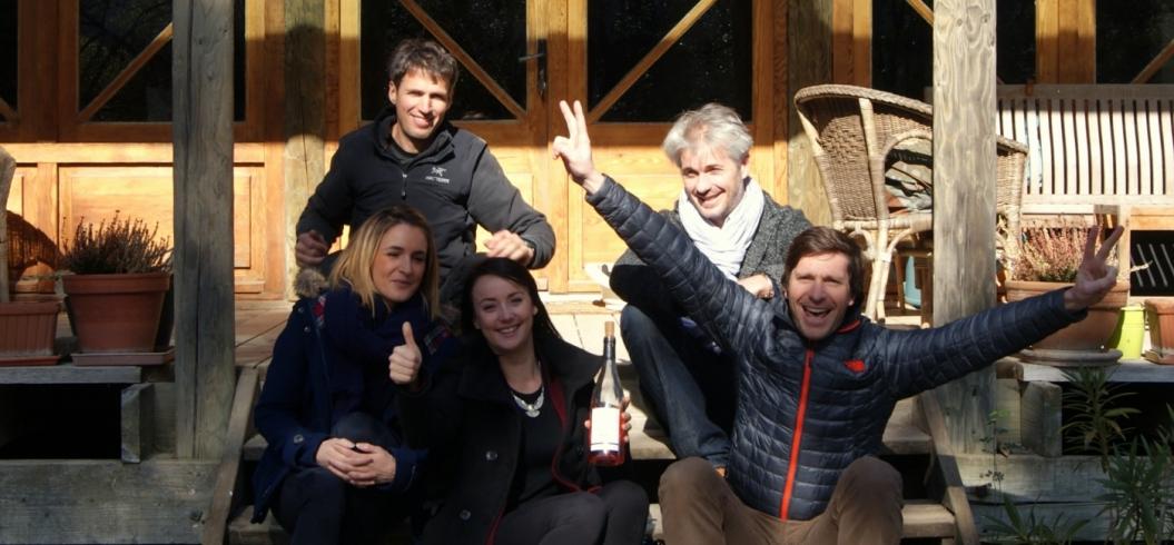Ricome distribution - 12 Février 2015 - Vendeurs de Vins, Nïmes, France.
