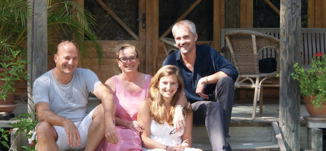 Véronique& Alain Guinaudeau - 23 Août 2013 - Gourmet Hub - Importateurs de Vins - Île Maurice.