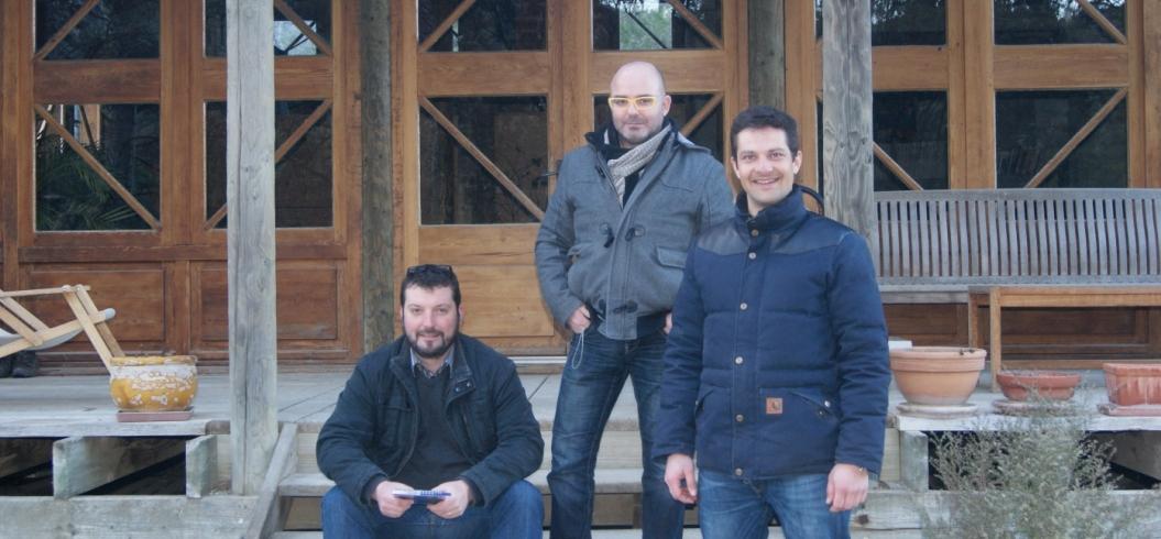 Visite de l'équipe de TGVins - 7 février 2013 - Importateurs - Belgique - http://www.tgvins.com/